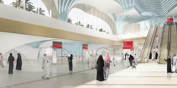 Doha Metro - Gold  Line