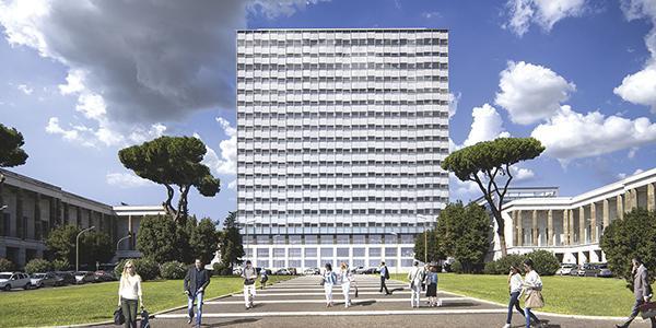 Ristrutturazione di Palazzo Italia