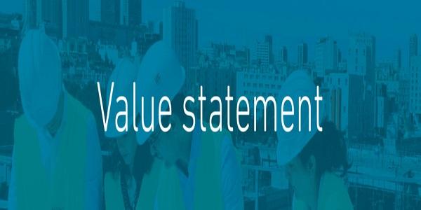 Artelia Value Statement