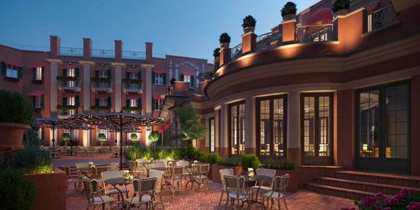 Riapertura Hotel de La Ville - Roma